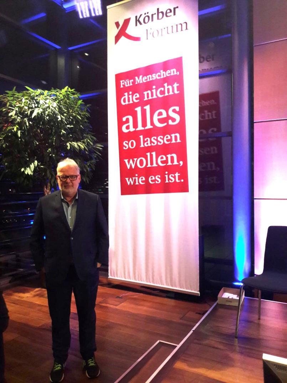 Bernd Wense auf dem Körber Forum 21-11-2018