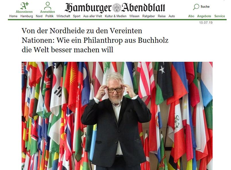 Bernd Wenske, Philanthrop und Business-Mentor aus Buchholz in der Nordheide