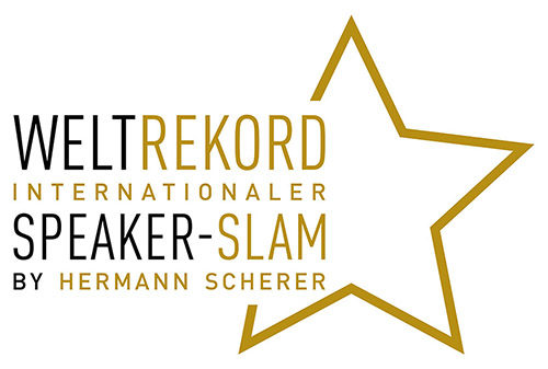 Weltrekord Internationaler Speaker-Slam by Hermann Scherer Siegel