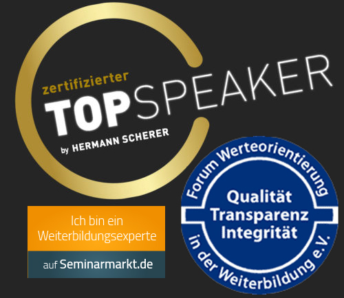 Top-Speaker Hermann Scherer - Forum Werteorientierung - Seminarmarkt
