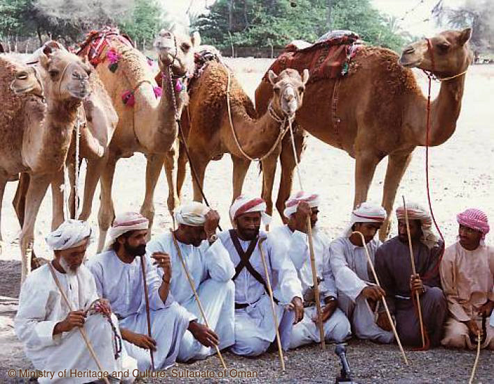 News | Al-Taghrooda, traditional Bedouin chanted poems © Ministry of Heritage and Culture, Sultanate of Oman