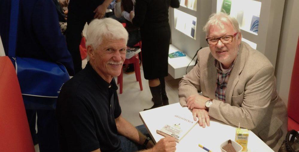 News | Bernd Wenske mit Michael Hartmann auf der Frankfurter Buchmesse