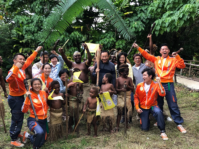 News | FOWPAL hat 100 Nationen besucht, um Liebe und Frieden zu verbreiten